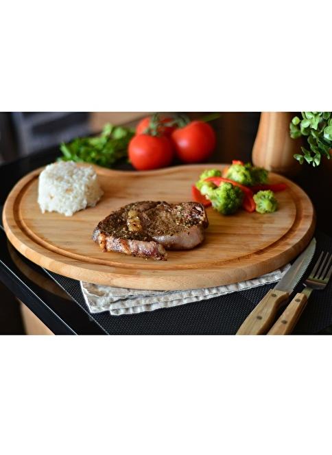 Bambum Core Kesme Steak Tahtası Kahve